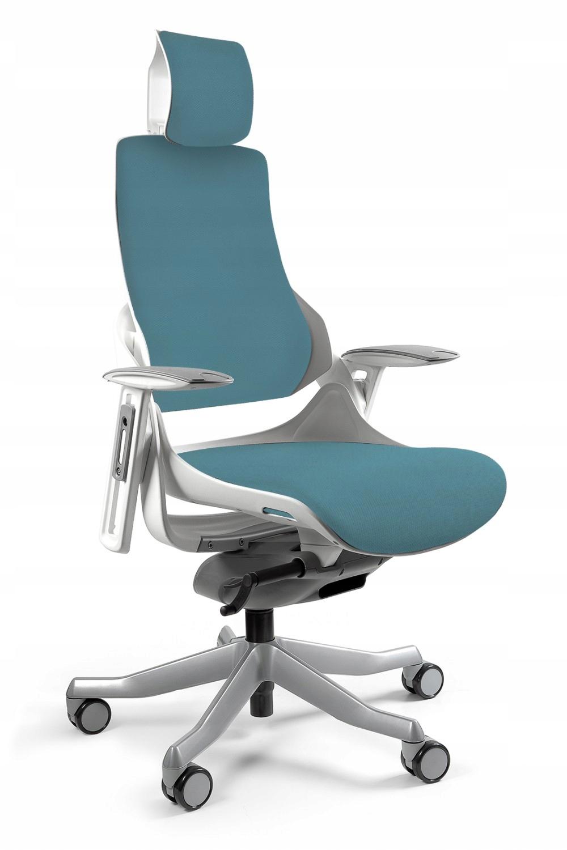 Stolička WAU BL414 biela STEELBLUE Ľudskej podpory kancelárie