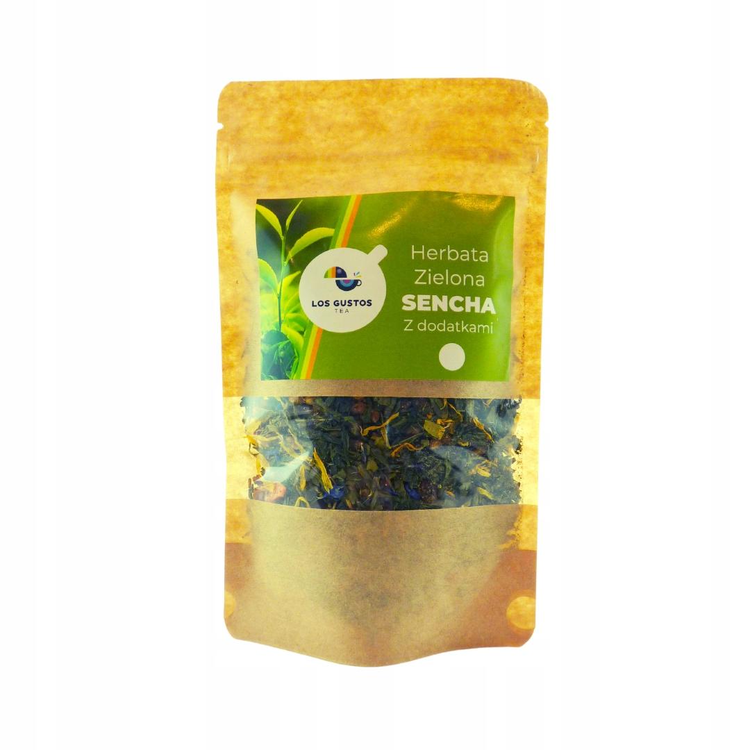 Зеленый чай Los Gustos Sencha, смесь 2 100г