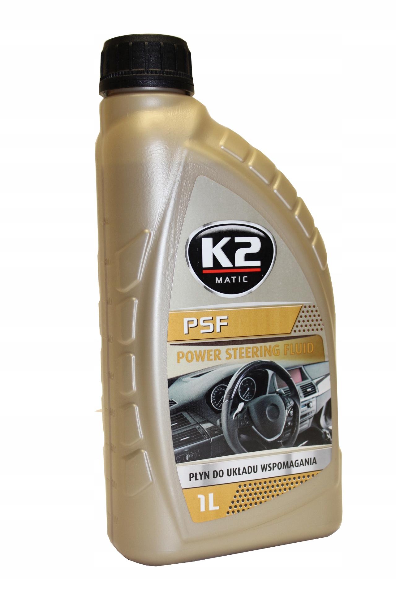 K2 PSF Жидкость для системы гидроусилителя руля 1Л