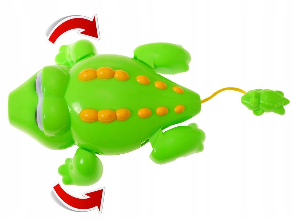 Wesoła zabawka do kąpieli ŻÓŁW, KROKODYL ZA0592 Wiek dziecka 3 lata +