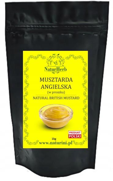 Musztarda ANGIELSKA w proszku 1kg by Naturini