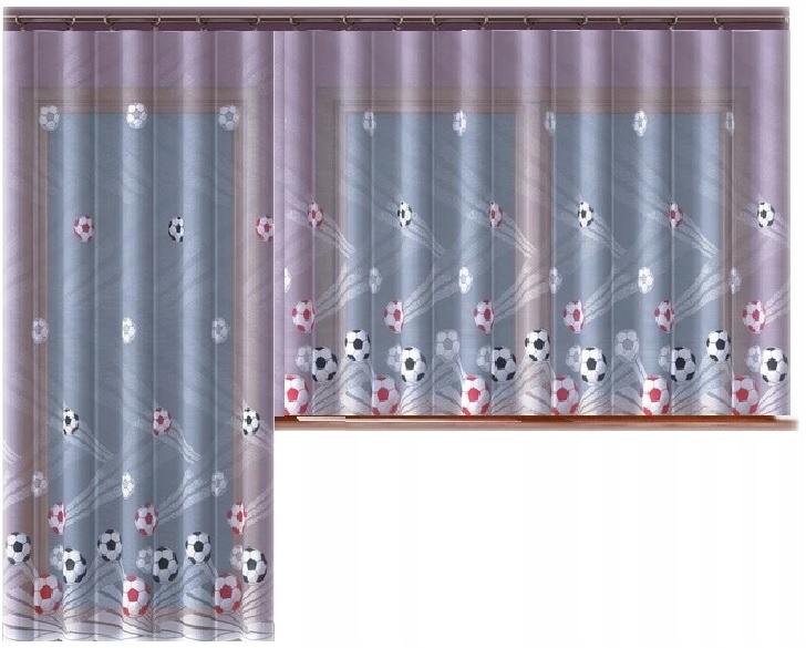 Piłki firana żakardowa 200x150cm z obszyciem Kod producenta 5907784636928