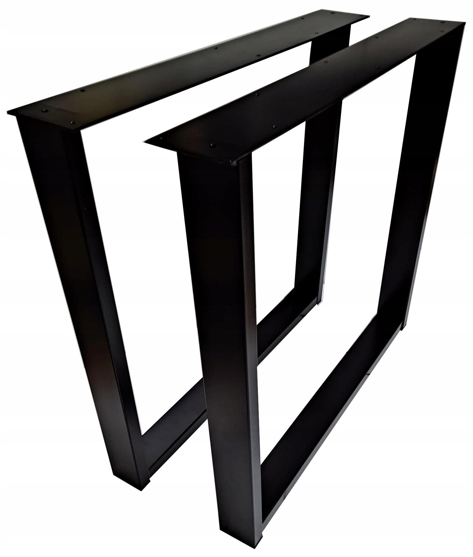 Ножка обеденного стола стальная черная NG-023.89