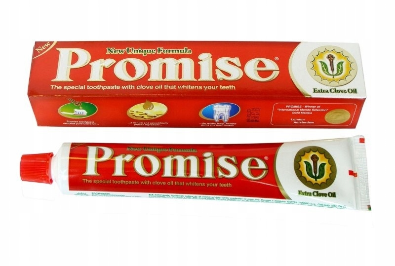 Promise Goździkowa зубная паста без фтора 150г.