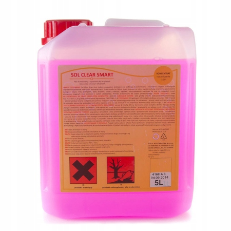 Sol Clear Smart 5л жидкость для дезинфекции солярия.