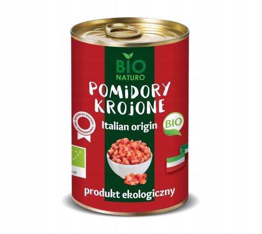 Pomidory w Puszce Krojone BIO Naturo Ekologiczne
