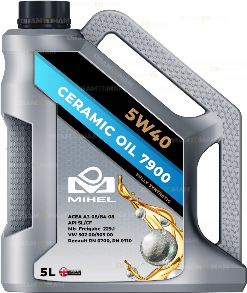 Mihel Ceramic Oil 7900 5l 5w40 Olej Ceramiczny 1