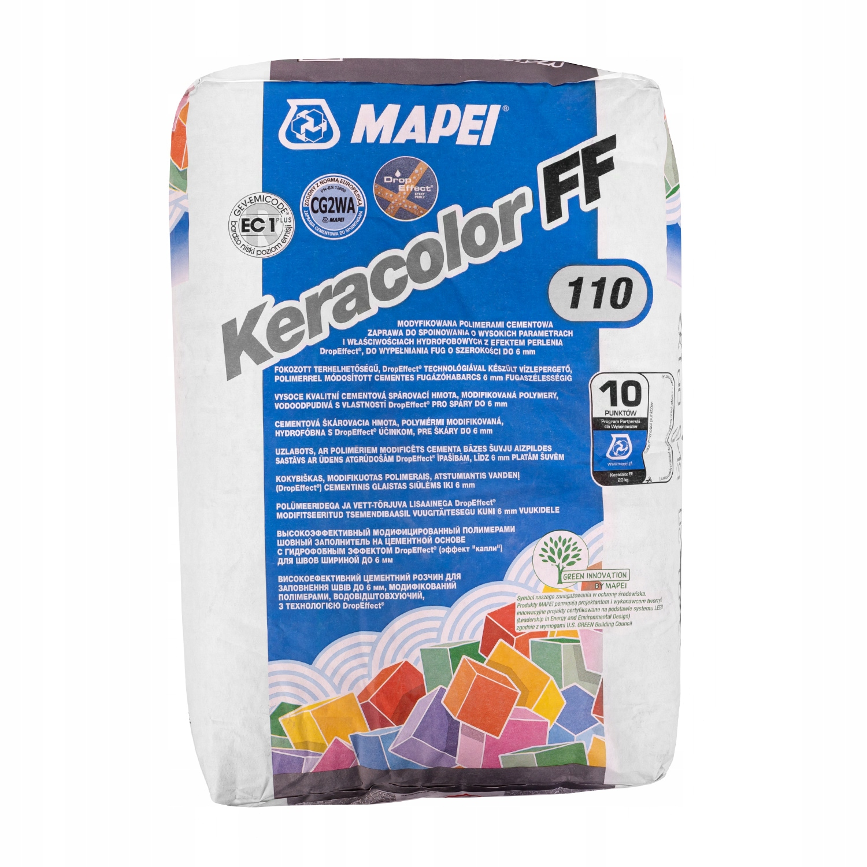 Fuga spoina MAPEI KERACOLOR FF 20kg 110 manhattan