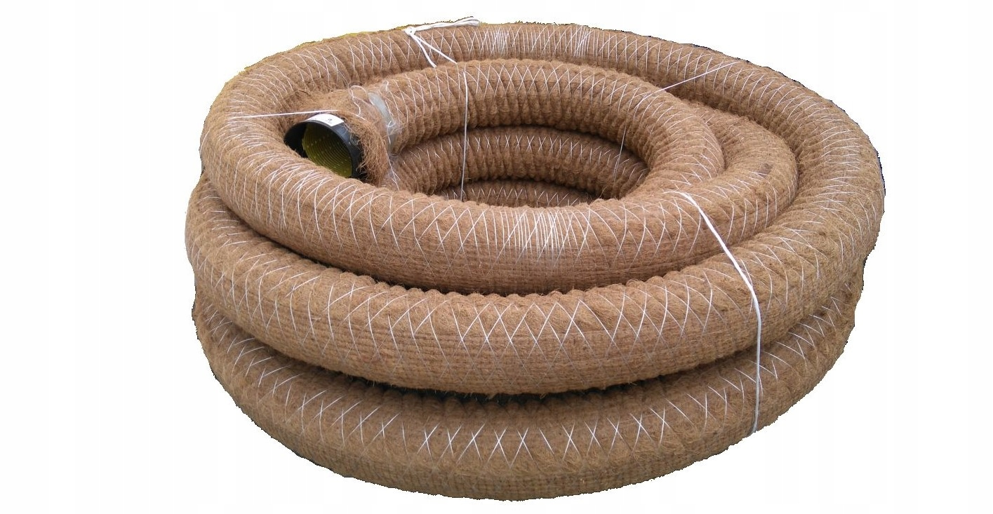 Дренажная труба PVC-U 80 из кокосового волокна