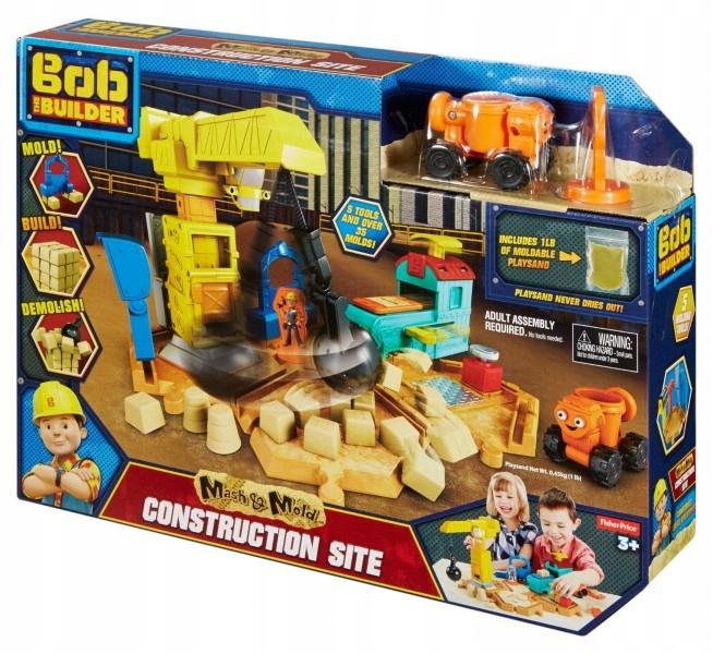Staviteľská súprava Bob the Builder + Sand Kinet.