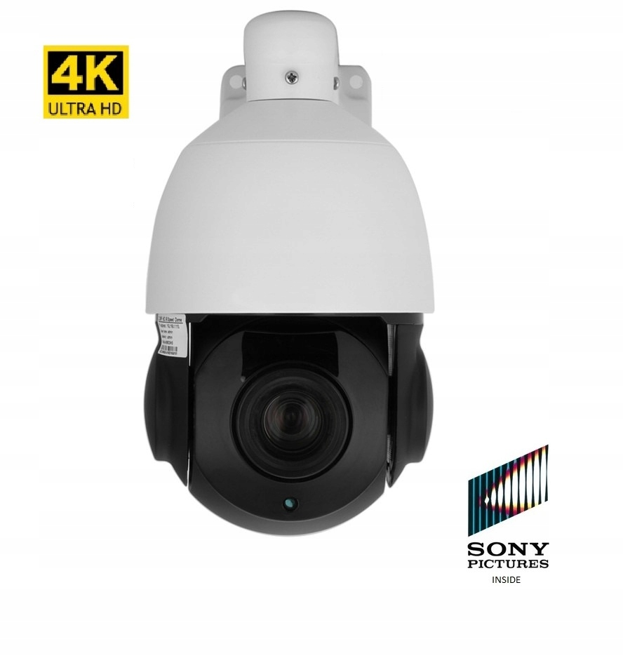 Kamera Obrotowa IP sieciowa 4K 8MPX IR100m 30xZoom
