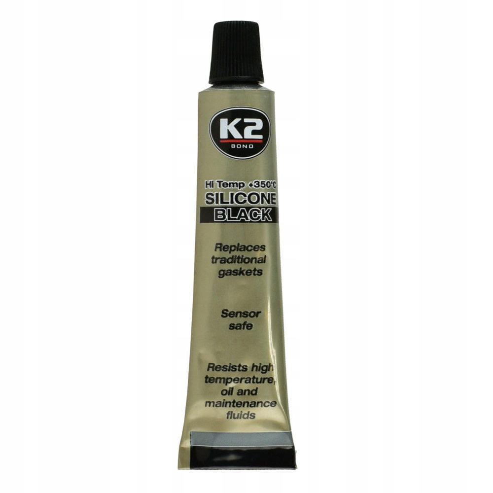 K2 СИЛИКОНА BLACK HIGH TEMPERATURE UP UP ДО 350C 21g