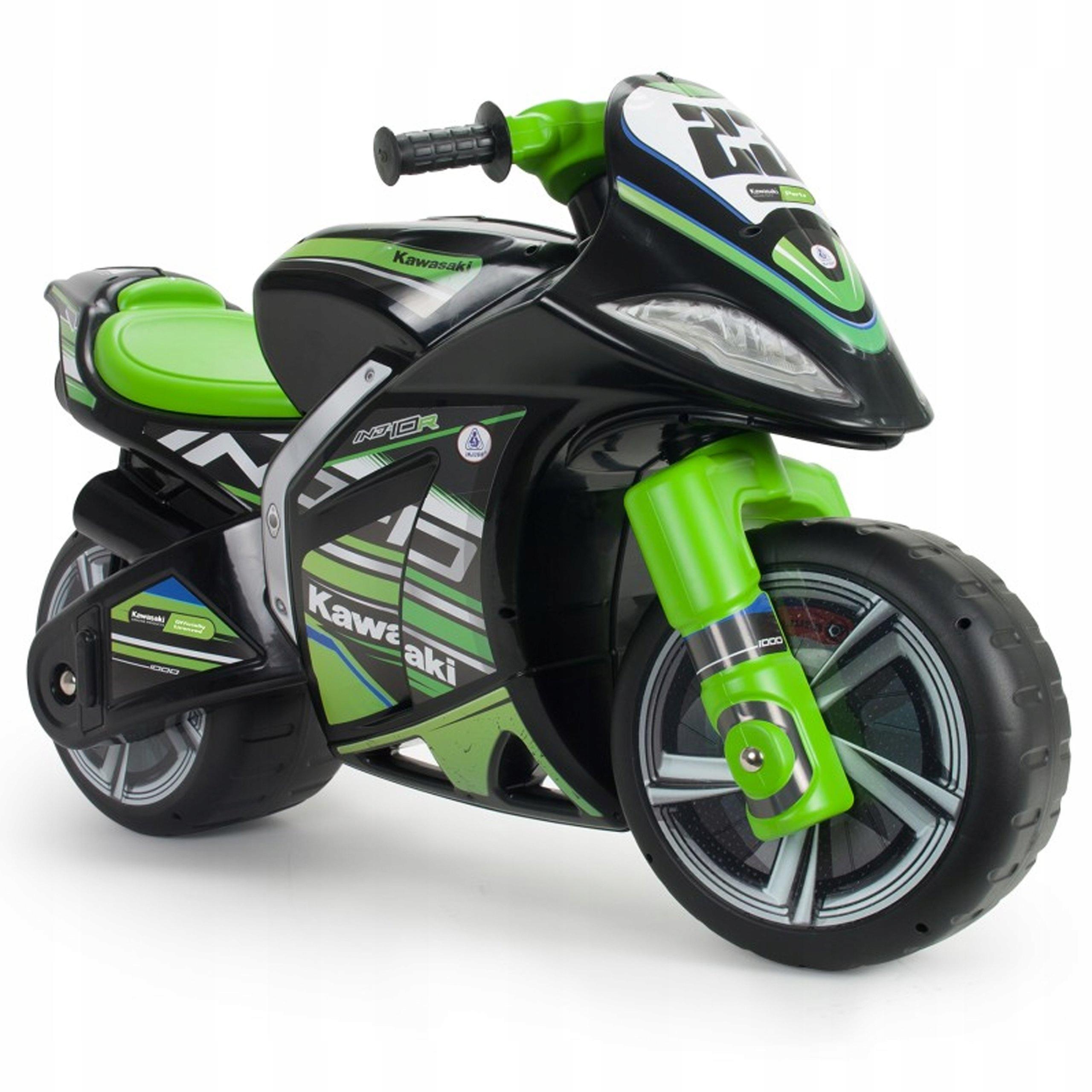 Motor Kawasaki Biegowy Jezdzik Dla Dzieci Injusa 8696142037 Allegro Pl