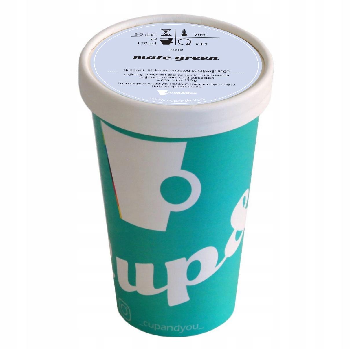Купить Чистый чай Yerba Mate Yerbamate GREEN EKO 120g на Otpravka - цены и фото - доставка из Польши и стран Европы в Украину.