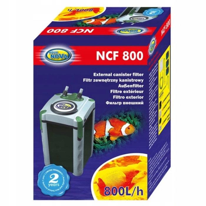 Фильтр NCF-800 до 200l + полные картриджи + бесплатные! Длина 23 см