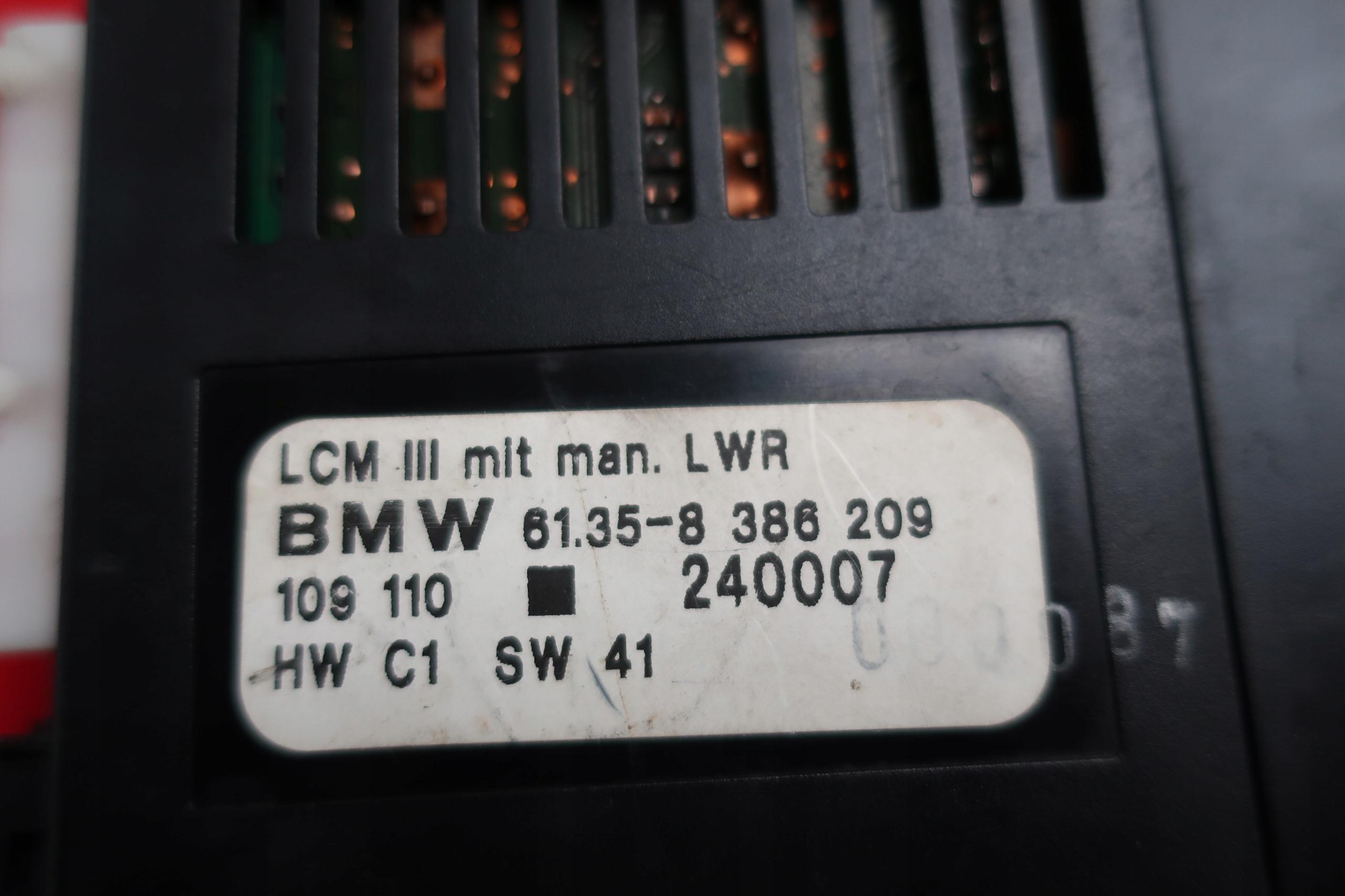 модуль Света lcm bmw e38 e39 lift ксенон 8386209