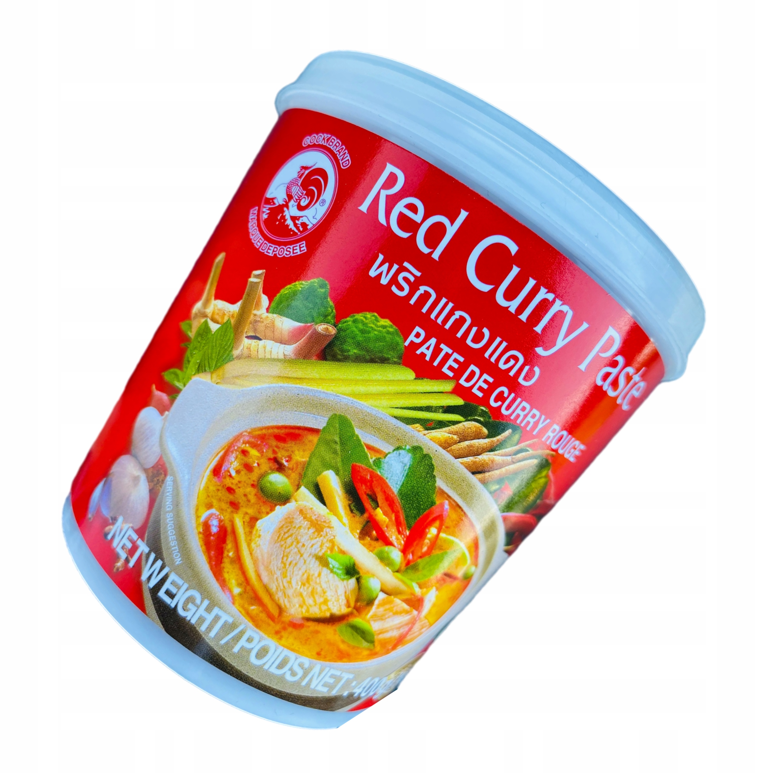 Паста Red Red Curry Paste 400g Thai COCK