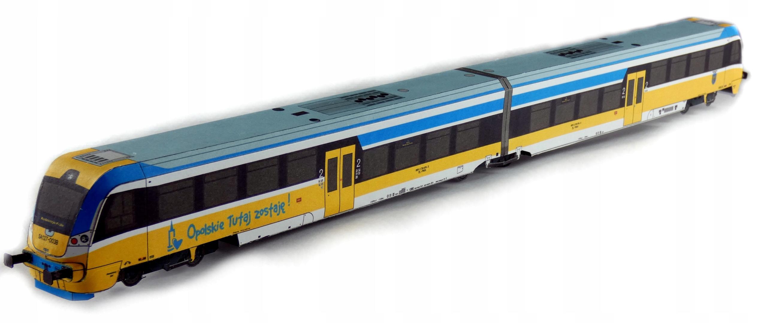 Рельсовый автобус NEWAG 220M Extra Model 1:87 H0