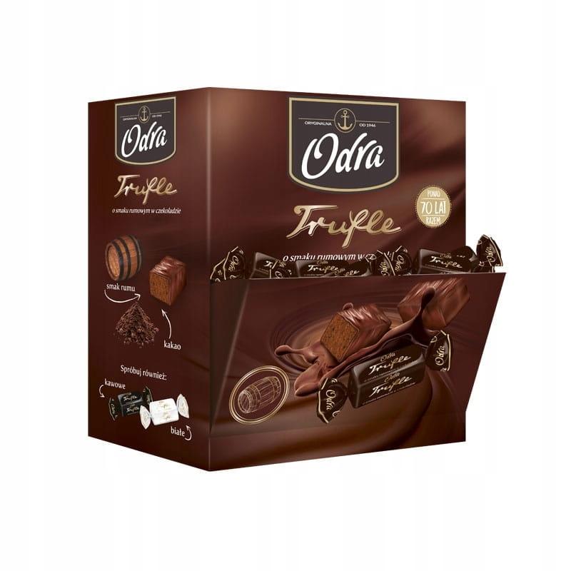 Конфеты Truffle Rumowa в шоколаде Одра 2,5 кг