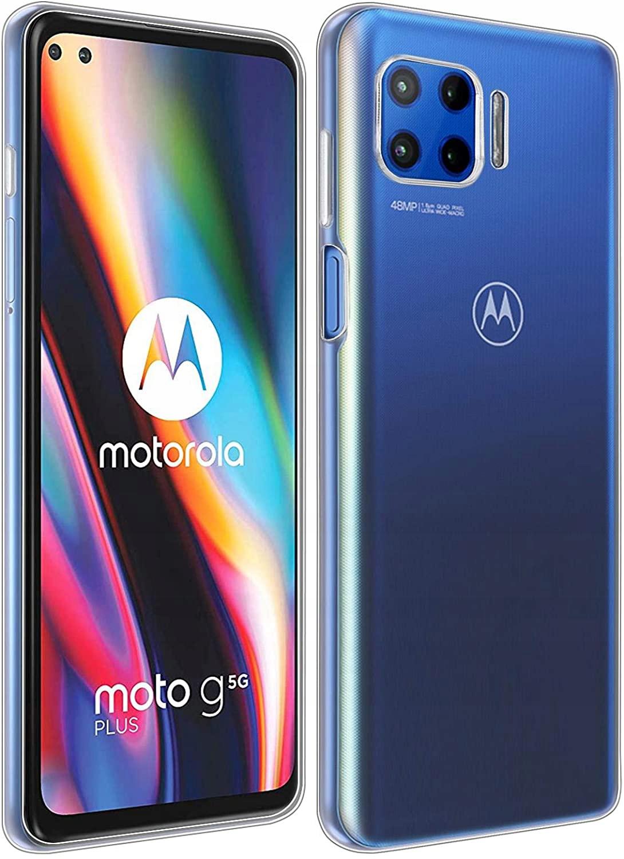 Etui do Motorola Moto G 5G Plus Clear Case + Szkło Dedykowany model Motorola Moto G 5G Plus
