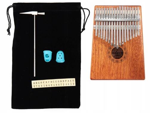 Item mbira musical instrument 17 keys