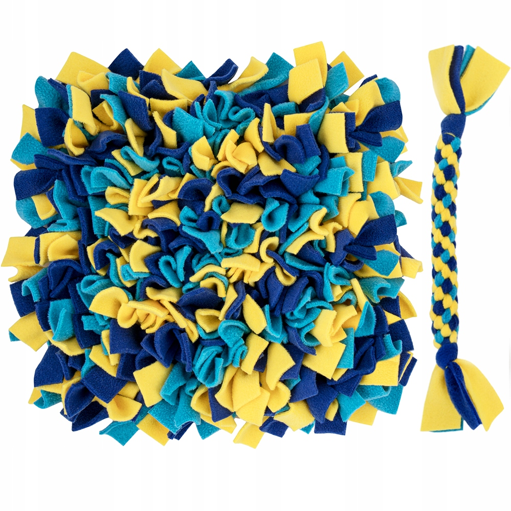 Обонятельный коврик (разные цвета) + рывок и лакомства
