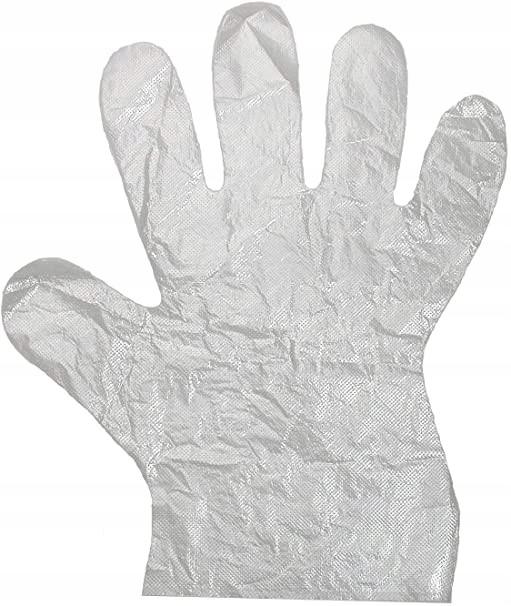 Перчатки полиэтиленовые одноразовые перчатки 100 шт.