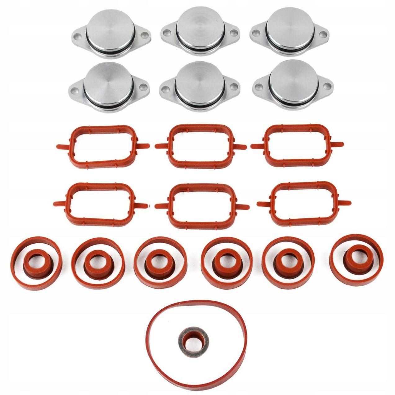 bmw e60 e46 e90 e71 x5 x6 m57 заглушки коллектора