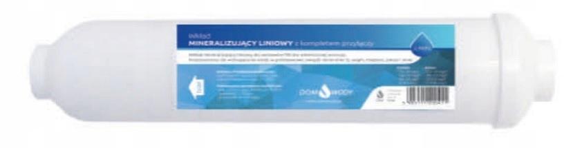 Mineraliser Vodné filtre Osmóza Lineárna kazeta
