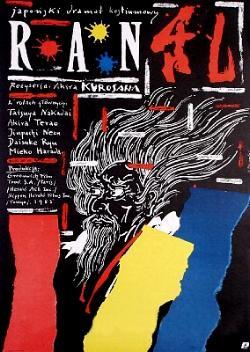 Andrzej Pągowski - Ran Akira Kurosawa - plakat