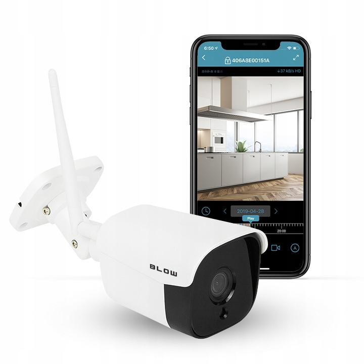 Kamera BLOW IP WiFi zewnętrzna 4Mp 36IR monitoring