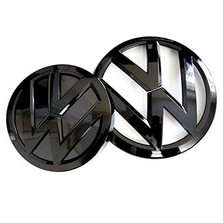 VW GOLF MK 7 МАРКЕРНЫЙ ЛОГОТИП ЭМБЛЕМЫ ЧЕРНЫЙ НАБОР