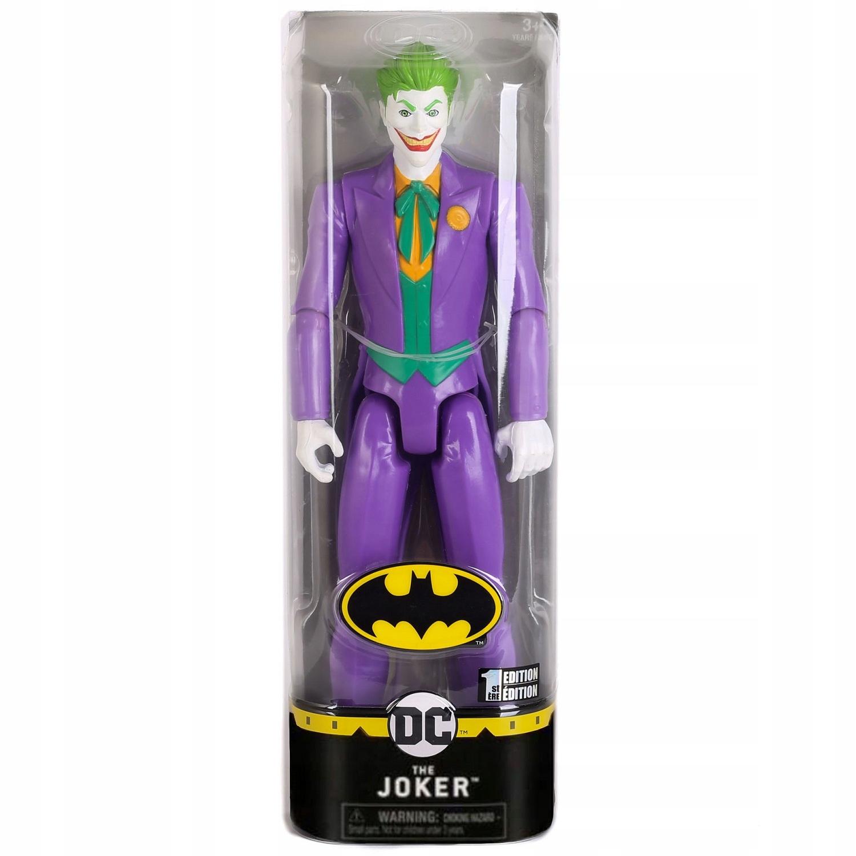 DUŻA FIGURKA JOKER 30cm SPINMASTER BATMAN Bohater Batman