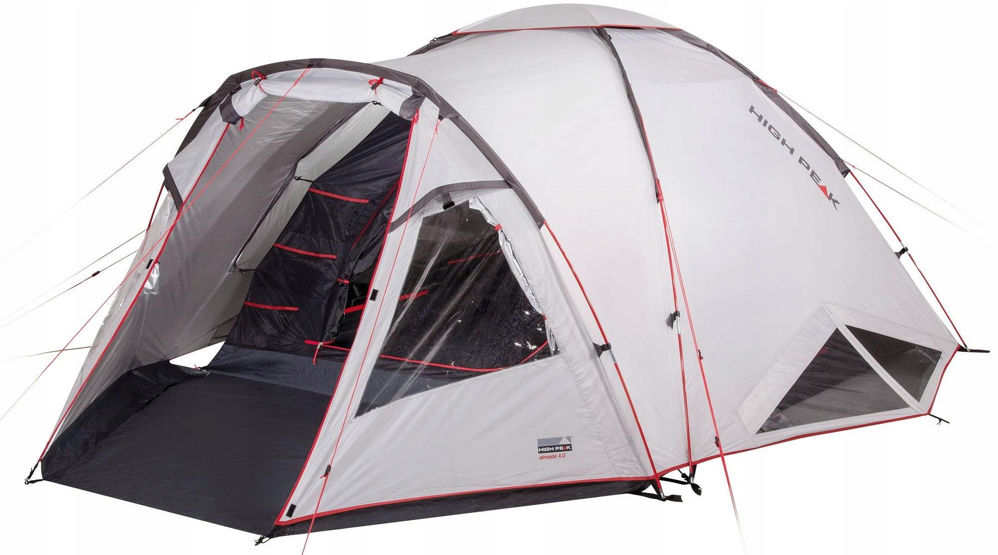 Namiot Turystyczny 4 Osobowy Almada 4 High Peak 9501690550 Allegro Pl