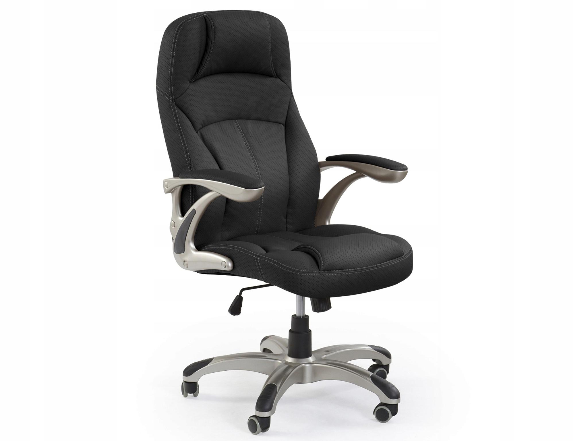 Stolička gabinetowy CARLOS čierne stoličky biuroHALMAR
