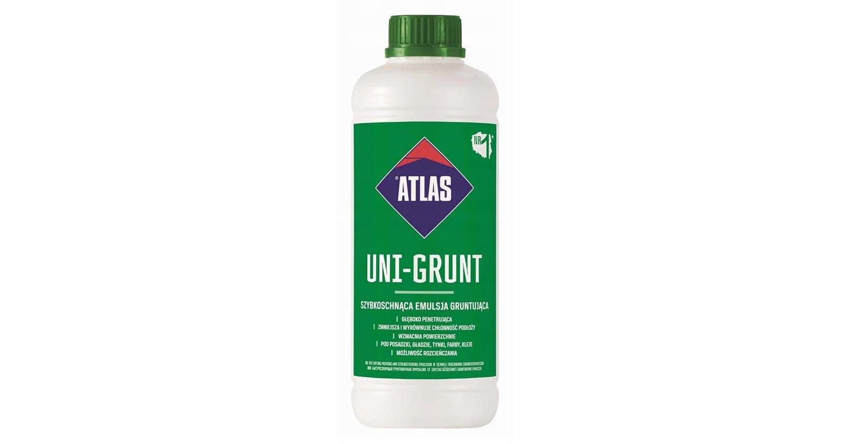 ATLAS UNI-GRUNT szybkoschnąca emulsja grunt 1L