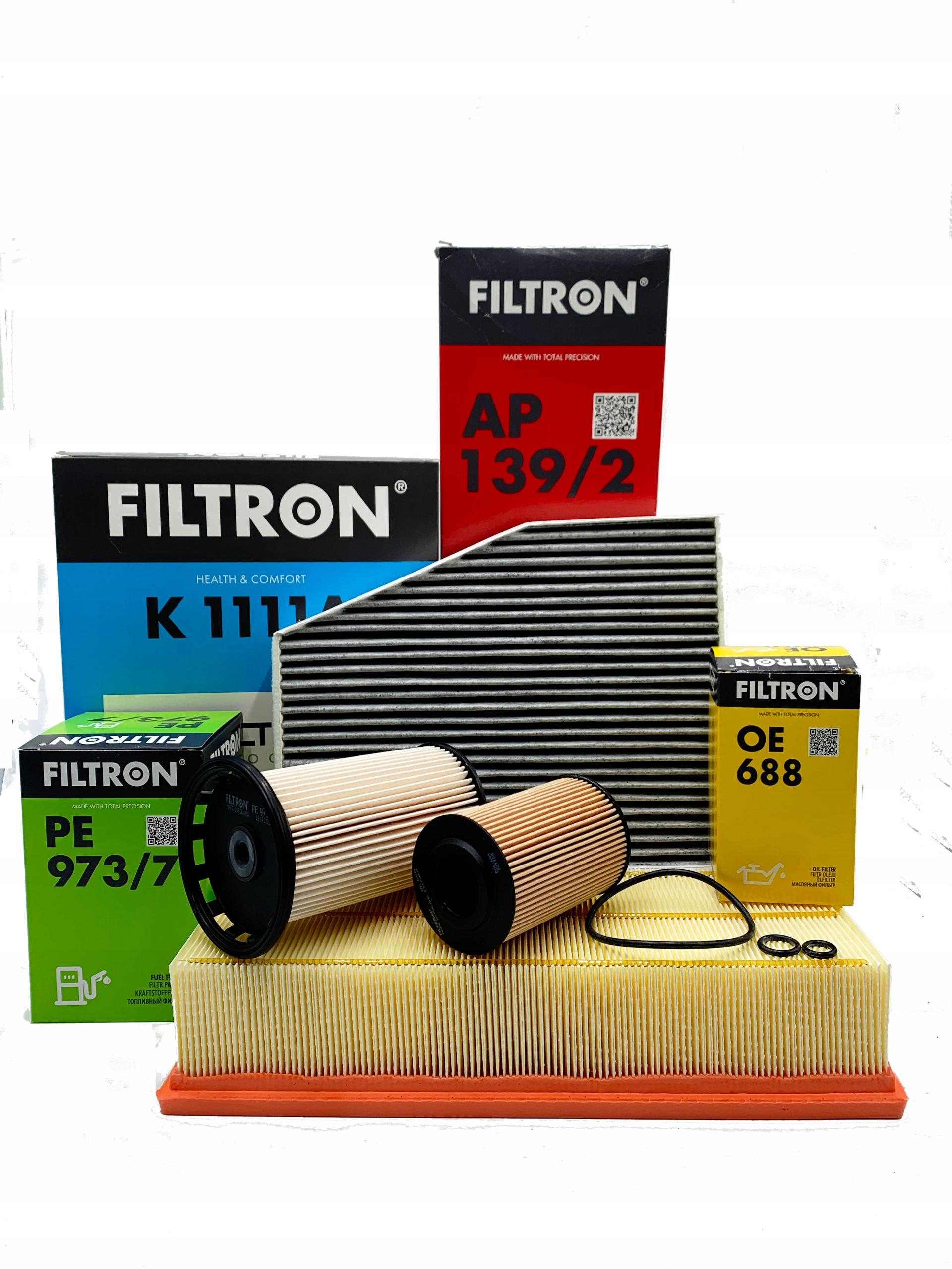комплект фильтры filtron vw passat b7 cc 1 6-2 0 tdi