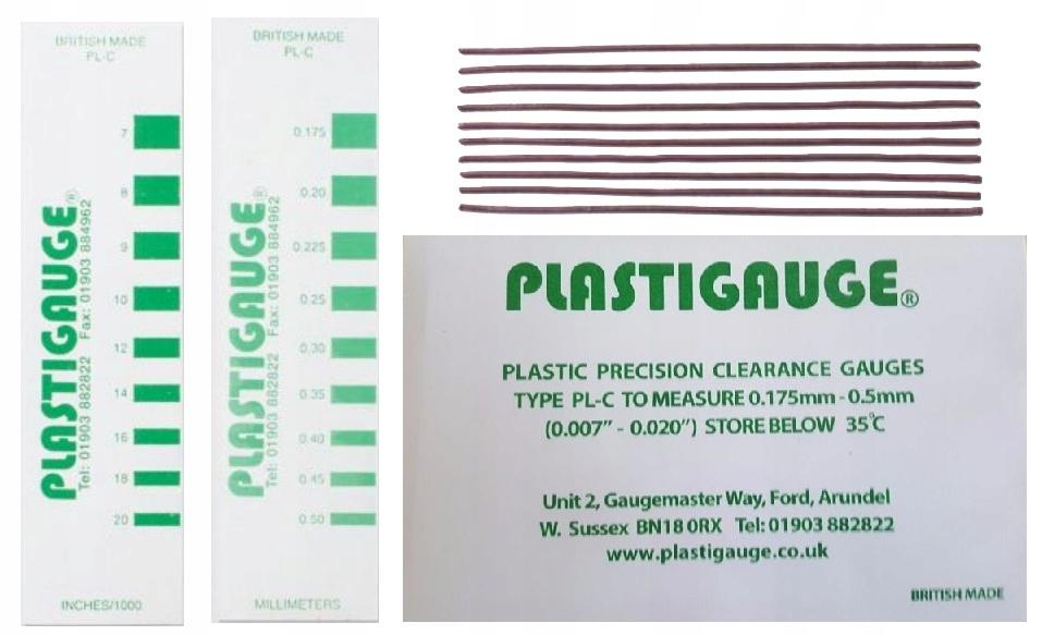 полоски измерительные распродажа двигателя тюнинг plastigauge lc