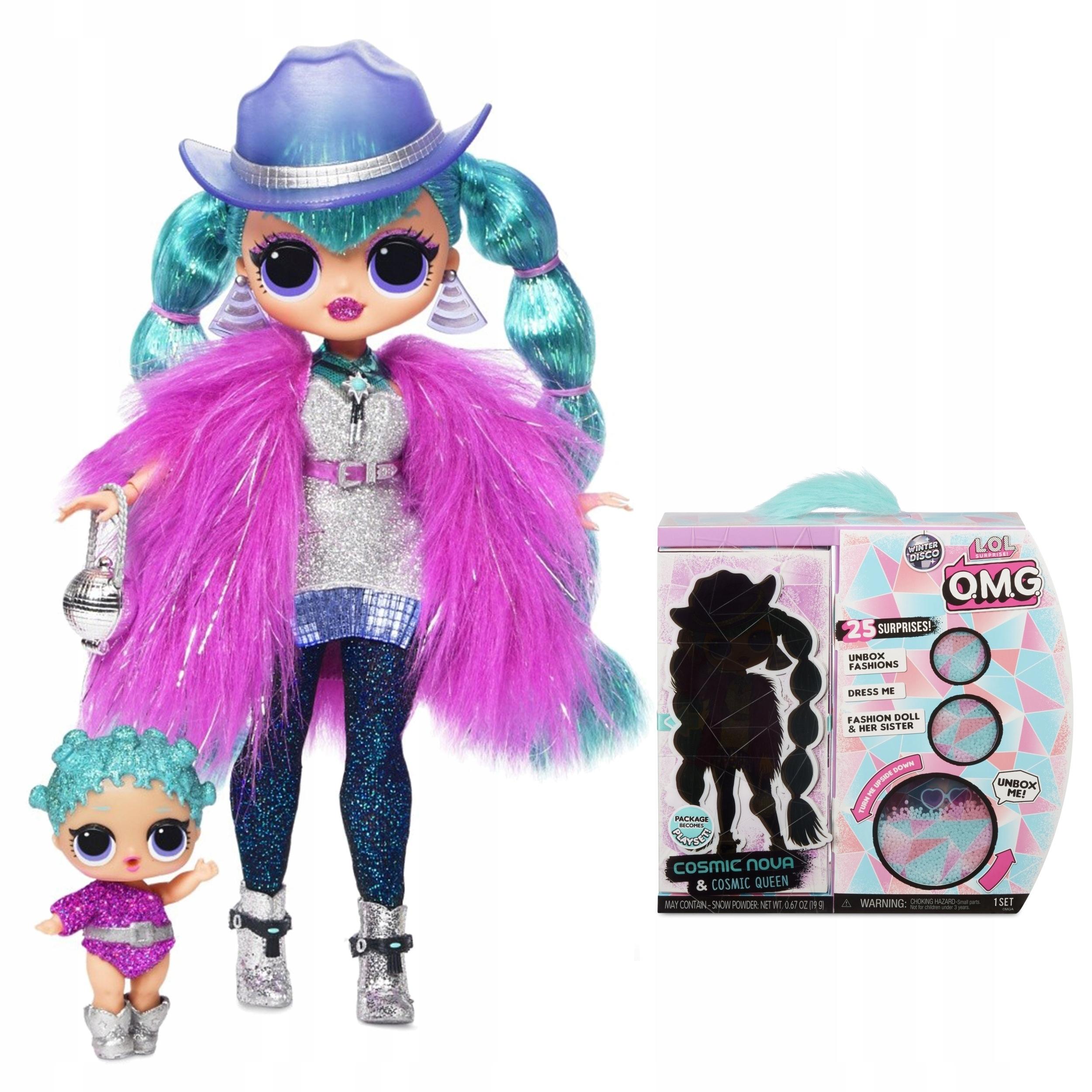 Prekvapujúca bábika LOL! OMG Winter Disco Cosmic Nova