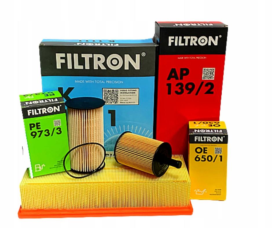 комплект фильтры filtron 20tdi 1 9tdi vw passat b6
