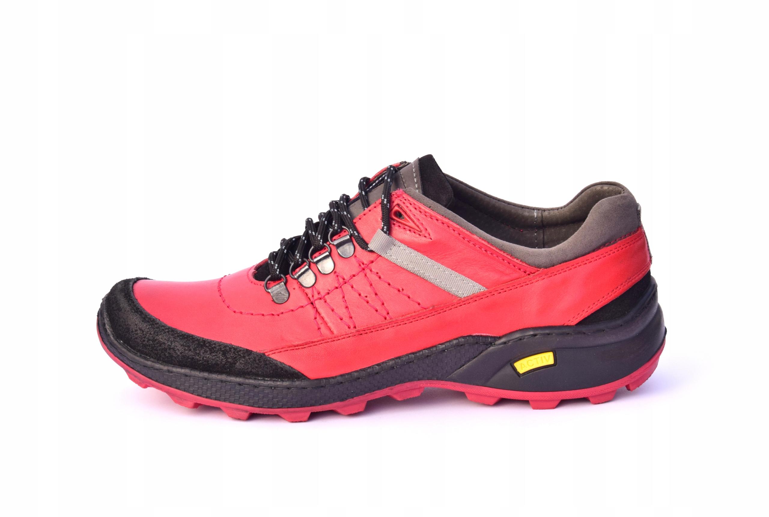 Skórzane obuwie trekkingowe 274
