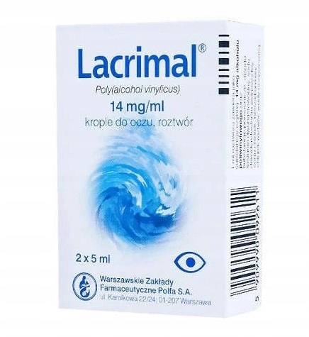 Lacrimal Nawilżające Krople Do Oczu 10ml