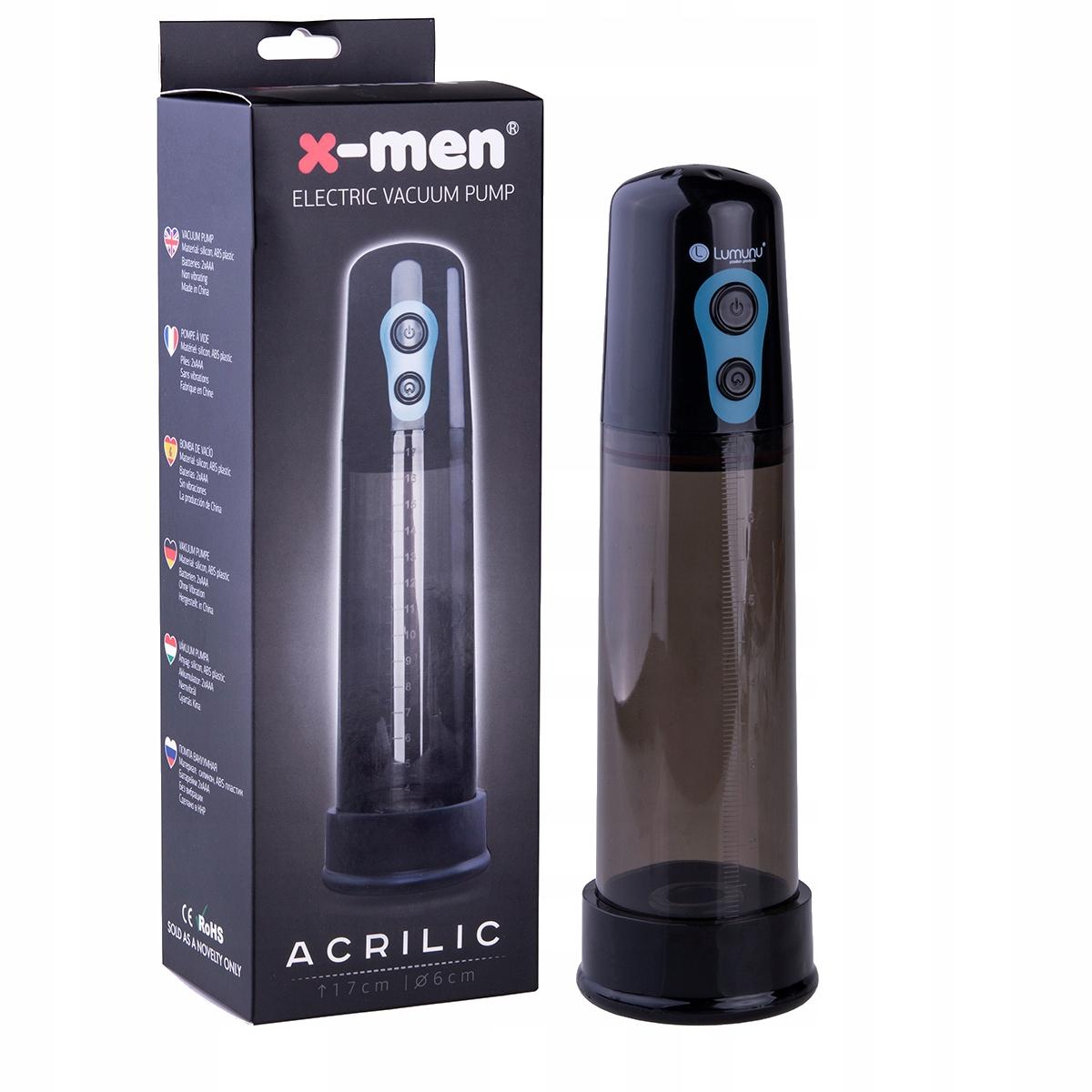 elektryczna pompa próżniowa dla penisa ile cm stojący penis