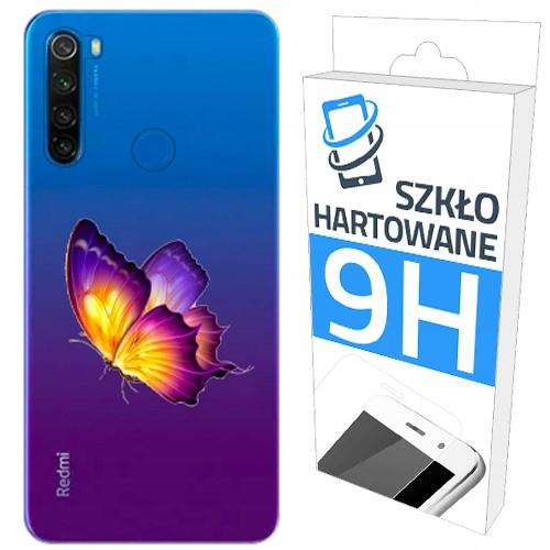 200wzorów Etui+szkło do Xiaomi Redmi Note 8T Case