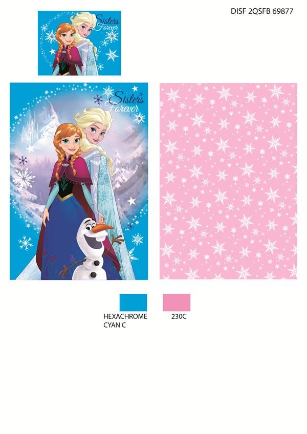 Frozen posteľná bielizeň - Frozen 140X200