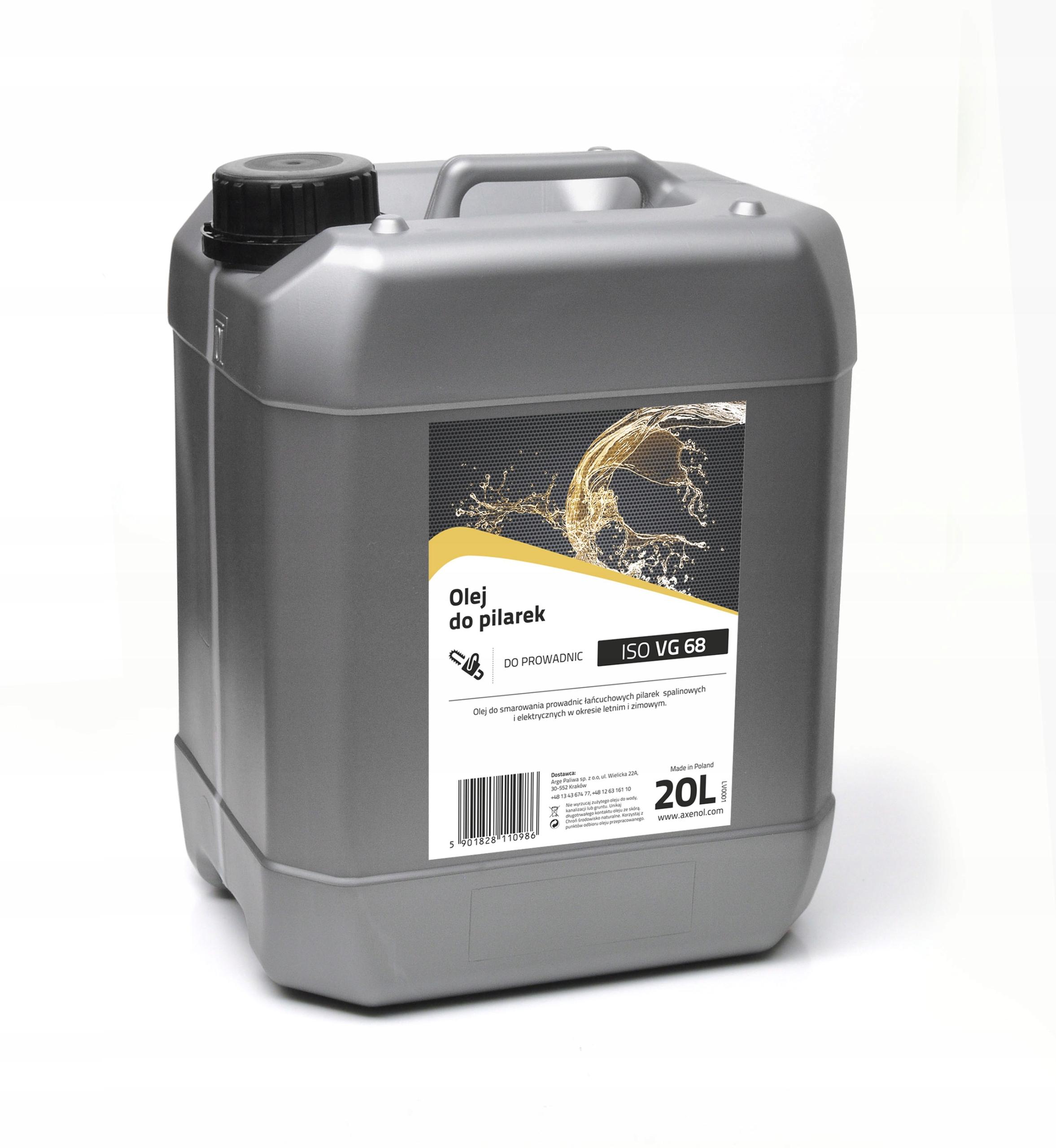Olej na mazanie reťazí Benzínová píla Axenol 20L