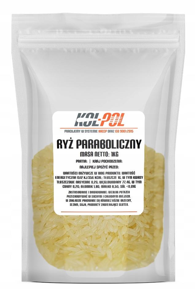 Ryż paraboliczny 1kg 1000g JAKOŚĆ parboiled