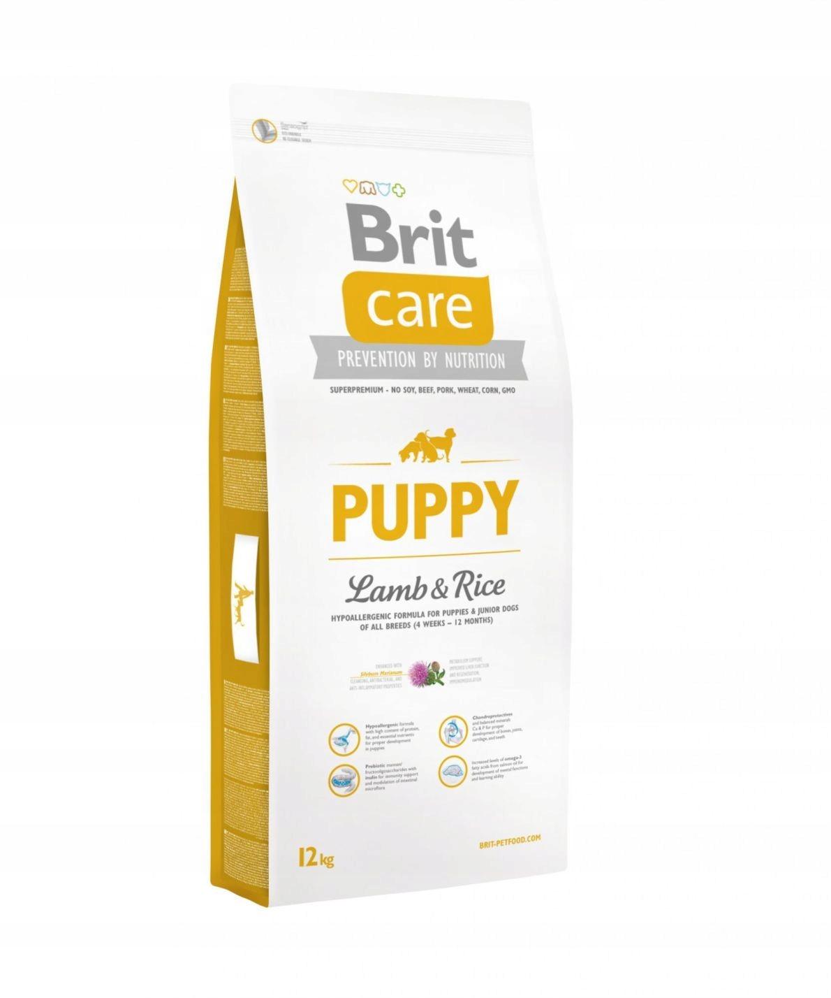 Купить BRIT Care Puppy lamb & rice 12 кг на Otpravka - цены и фото - доставка из Польши и стран Европы в Украину.