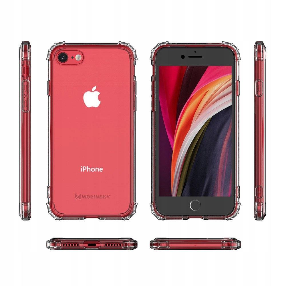 Pancerne etui Anti Shock do iPhone 7 / 8 / SE2020 Materiał tworzywo sztuczne
