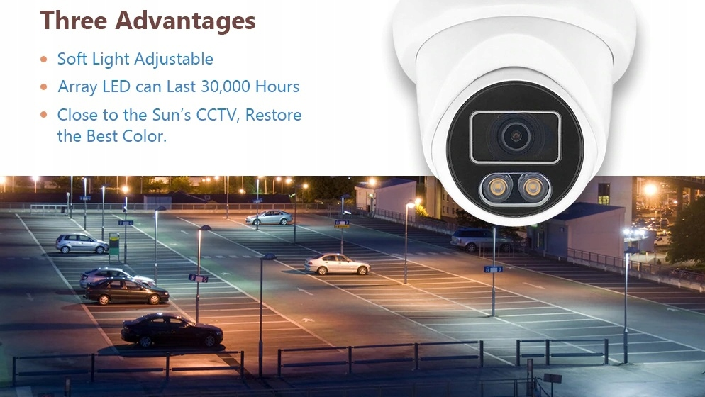 Kamera AHD, HD-CVI, HD-TVI, PAL ColorVu 5MPX Model 2020